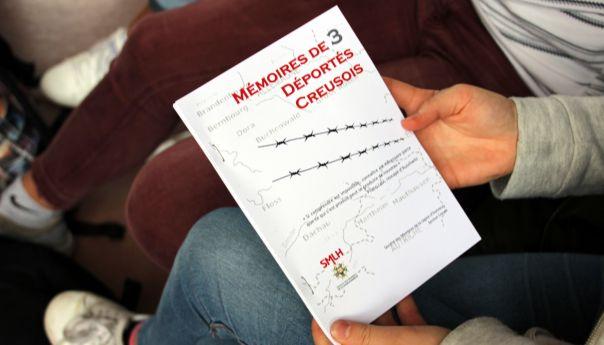 La Mémoire de trois déportés Creusois transmise aux collégiens