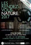Cycle de films la nature près de chez vous