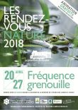 Fréquence grenouille avril 2018