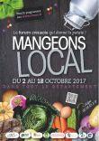 1er Forum de l'alimentation locale 2017